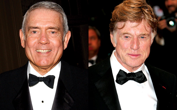 Dan Rather Robert Redford
