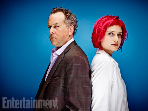 David Costabile and Alison Sudol, Dig