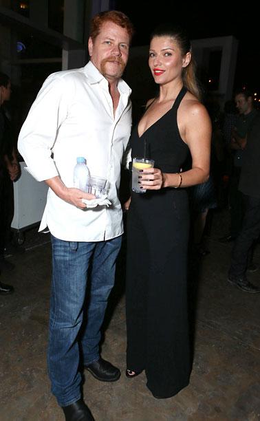 Michael Cudlitz and Ivana Milicevic