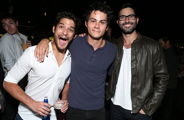 Tyler Posey, Dylan O'Brien, and Tyler Hoechlin