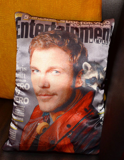 Chris Pratt: Guardian of the Couch Pillow