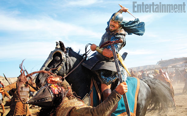Christian Bale in Exodus: Gods and King