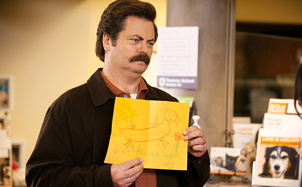 Completing the Parks and Recreation hat trick, Nick Offerman scored his long overdue first EWwy for playing Ron Swanson with an even more impressive 52.54%…
