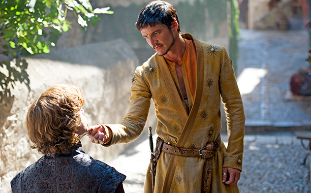 Guest actor and actress categories are new to the EWwys this year. Here's to Game of Thrones ' Prince Oberyn Martell, Pedro Pascal, coming out…