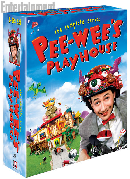 PEEWEE PLAYHOUSE BOXSET