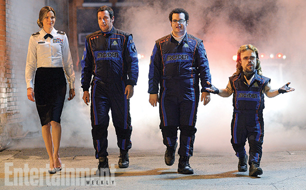 In the high-concept sci-fi action comedy Pixels , aliens misinterpret satellite feeds of classic arcade videogames such as Space Invaders and Centipede as a declaration…