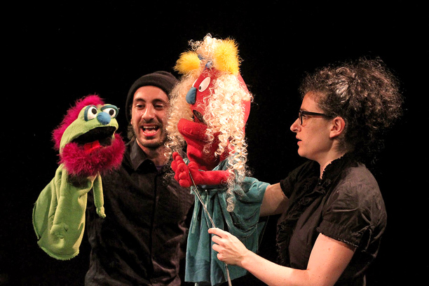 PUPPET TITUS ANDRONICUS Shane Snider and Mindy Leanse