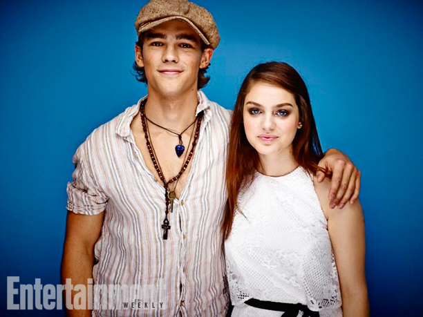 Brenton Thwaites and Odeya Rush, The Giver