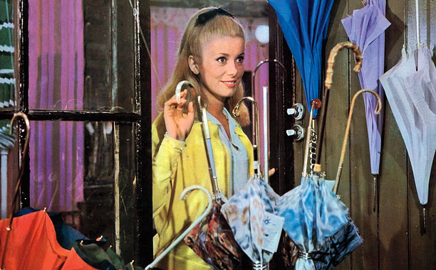 THE UMBRELLAS OF CHERBOURG Catherine Deneuve