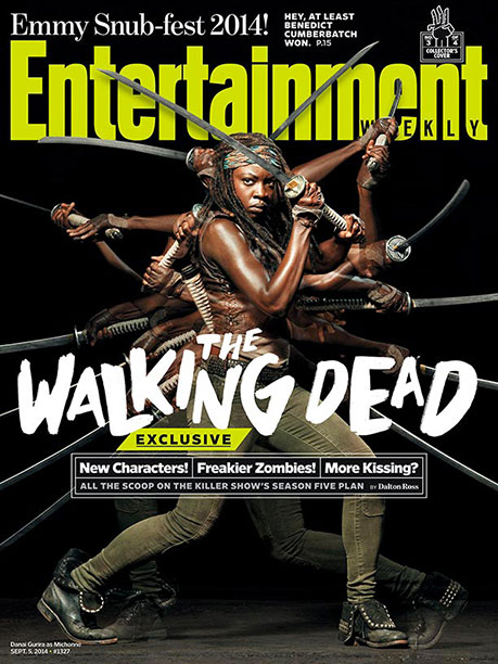 The Walking Dead | For more on season 5 of AMC's zombie smash, pick up a copy of EW on newsstands or buy all four collector's editions now .