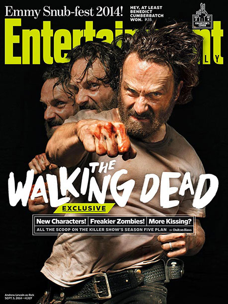 EW's The Walking Dead Collector's Cover No. 2