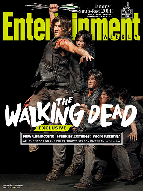 EW's The Walking Dead Collector's Cover No. 1