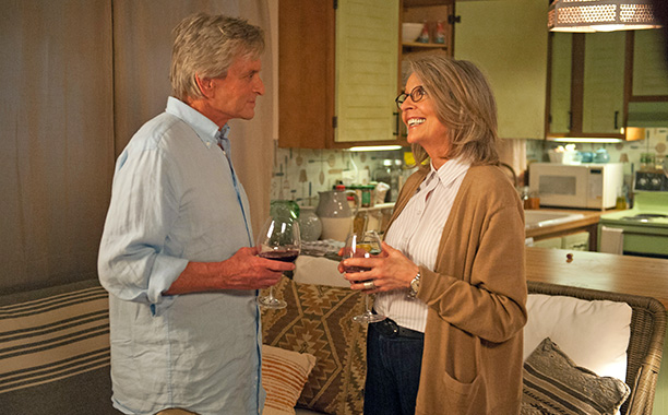 AND SO IT GOES Michael Douglas and Diane Keaton