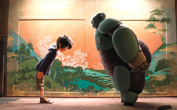 BIG HERO 6 Hiro and Baymax
