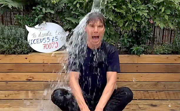 CUMBERBATCH ICE BUCKET
