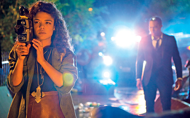 When she read the script for first-time feature director Justin Simien's campus satire Dear White People , Tessa Thompson ( For Colored Girls ) was…