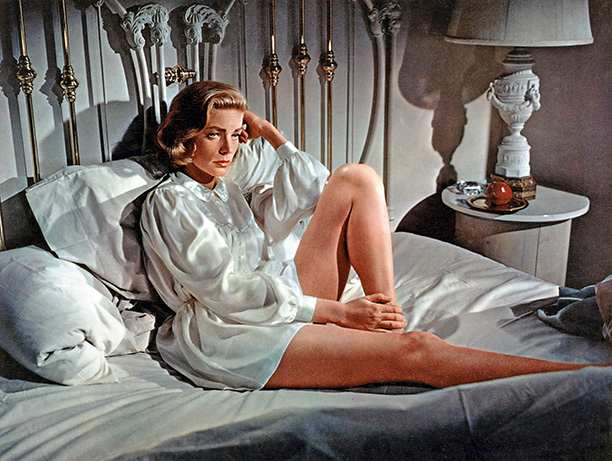 Lauren Bacall | While Humphrey Bogart struggled with the final stages of terminal cancer, Bacall made this romantic-comedy romp with Gregory Peck for director Vincente Minnelli. Peck is…