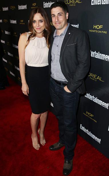 Jenny Mollen and Jason Biggs