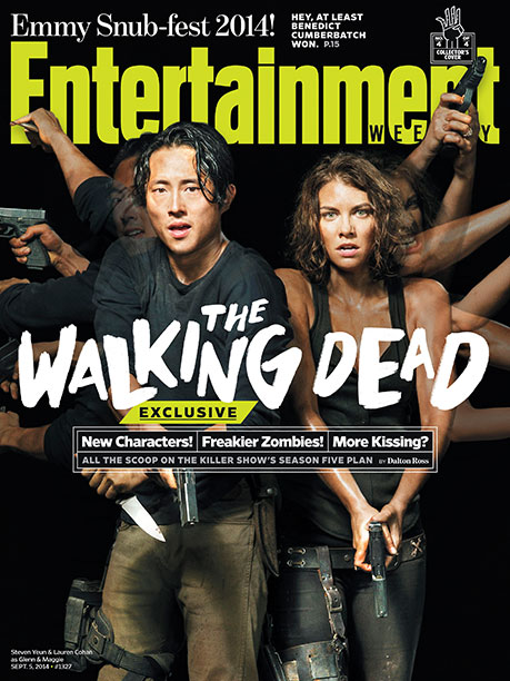 EW's The Walking Dead Collector's Cover No. 4