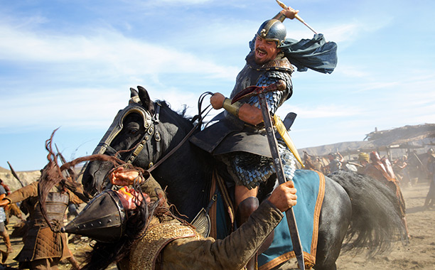 ''He's one of the most fascinating characters I've ever studied,'' says Christian Bale of Moses, the Old Testament prophet he plays in Exodus: Gods and…