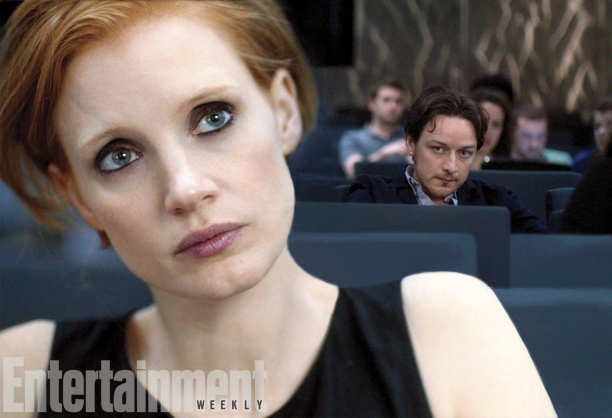 Jessica Chastain and James McAvoy in The Disappearance of Eleanor Rigby: Them