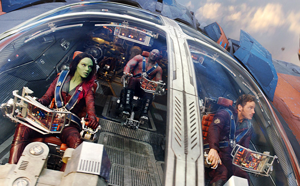 ''We're just like Kevin Bacon!'' — Gamora
