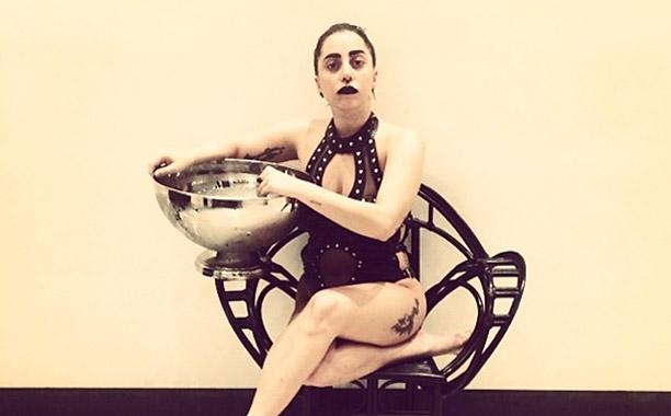 Lady Gaga Ice Bucket