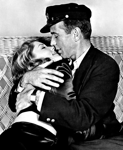 Lauren Bacall | Lauren Bacall's breakout role paired her with her partner Humphrey Bogart in scenes (and in marriage until his death in 1957). Like many of the…
