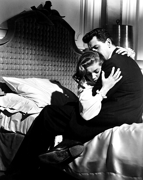 Lauren Bacall | Bacall brings depth to sensible secretary Lucy Moore, who has the misfortune of being swept up by the wealthy alcoholic playboy Kyle Hadley (Robert Stack)…