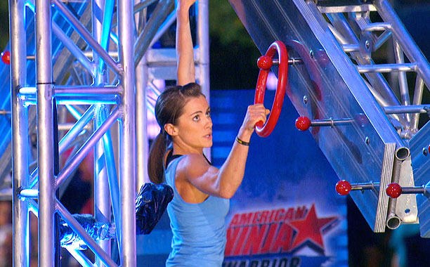 NBC's American Ninja Warrior is the only broadcast show to jump in the ratings this summer—and much of the credit goes to the ferocious five-foot-tall…