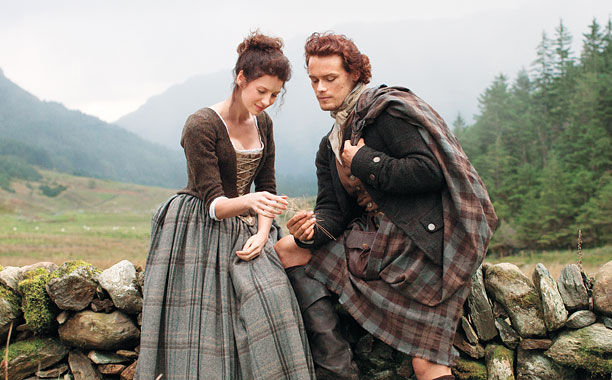 OUTLANDER Claire Randall and Jamie Fraser