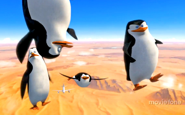 PENGUINS OF MADAGA-SCARE Flightless birds in frigh-- flight