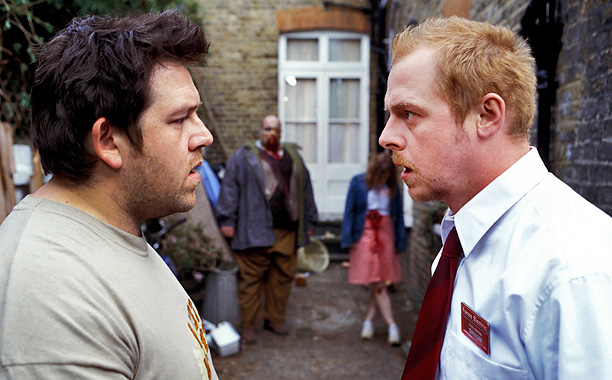Simon Pegg and Nick Frost decide to ride out the zombie apocalypse in the booze-filled, if hard to defend, environs of a London pub in…