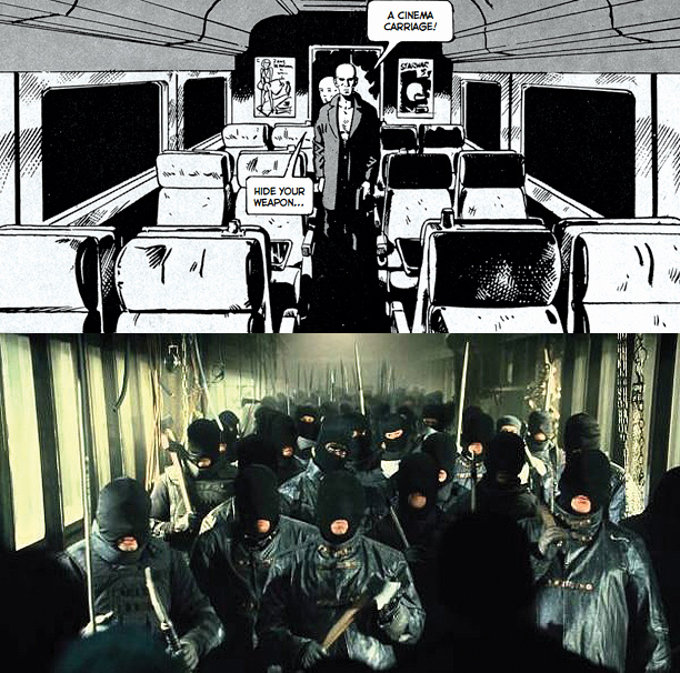 The original graphic novel Le Transperceneige is a bleak, monochromatic, talky trip through the socially stratified uber-train. Co-scripters Bong Joon-Ho and Kelly Masterson took the…