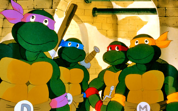 Teenage Mutant Ninja Turtles | Gone too are the cheesy grins from the Turtles' animated series (1987?96). ''The original Turtles had mouths that didn't articulate well,'' with huge teeth,'' notes…