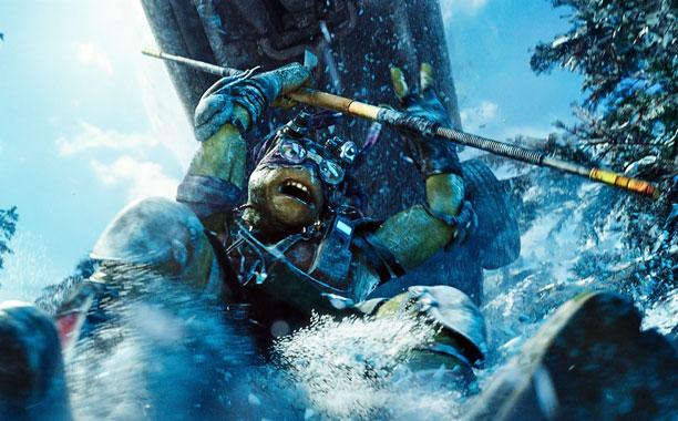 Teenage Mutant Ninja Turtles, Teenage Mutant Ninja Turtles | Donatello (Jeremy Howard) wields his b? staff.