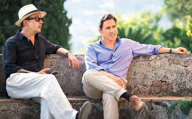 THE TRIP TO ITALY Steve Coogan and Rob Brydon