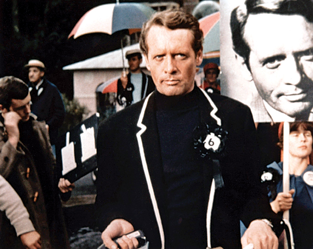 Star Patrick McGoohan didn't like guns and had a strict Catholic's distaste for onscreen lovemaking. So it makes sense that the nameless ex-agent at the…