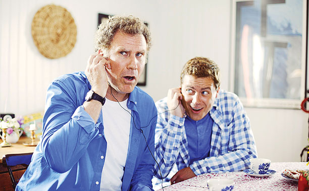 Will Ferrell and Greg Poehler in Welcome to Sweden