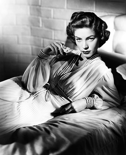 Lauren Bacall | Bacall as a femme-fatale closeted lesbian? It's not exactly spelled out, but the overtones are there in this often preposterous jazz melodrama. Kirk Douglas is…