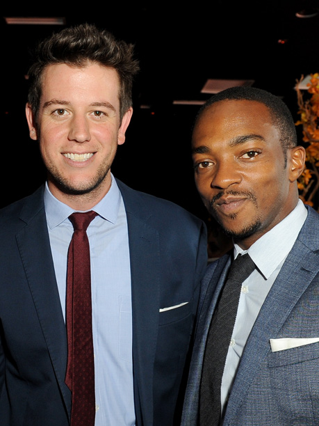Film critic Ben Lyons and Anthony Mackie, Shelter
