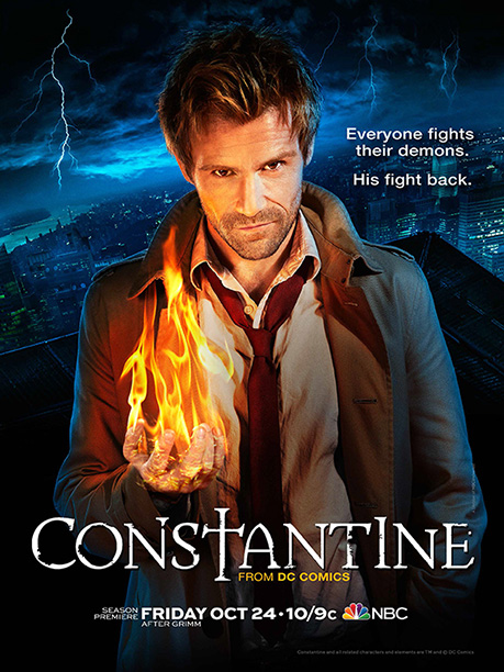 Thank you, DC Comics, for not insisting on calling this show DC Comics' Constantine (unlike ABC's Marvel's Agents of S.H.I.E.L.D. ) and settling for that…