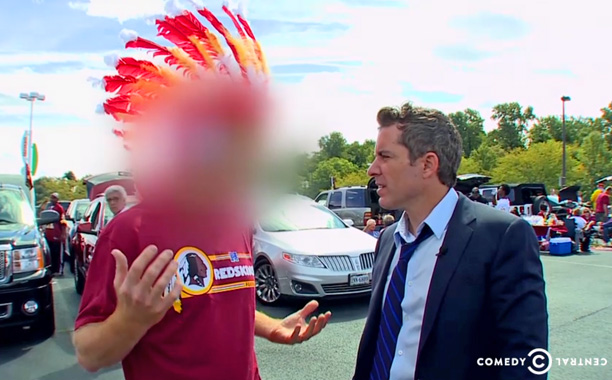 Daily Show Redskins