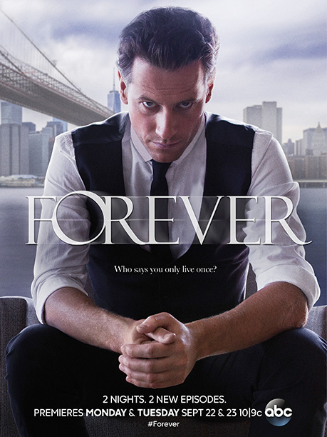 ABC didn't overthink this. Ioan Gruffudd is a hot guy so ABC sells us a hot guy, here looking like a black-tie Christian Grey after…