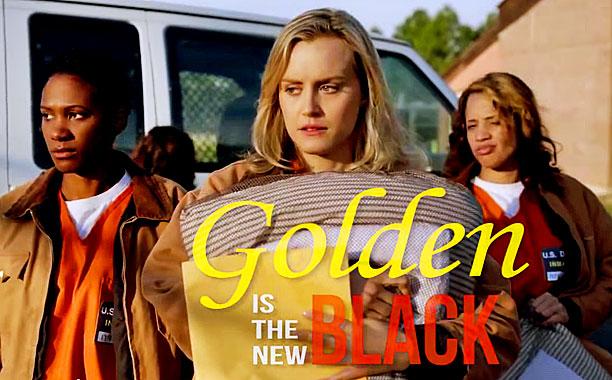 GOLDEN NEW BLACK