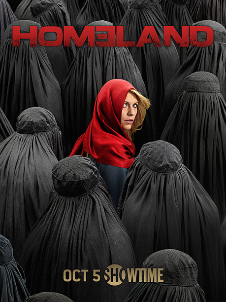 It's Carrie Matheson as Little Red Riding Hijab. This ad does so much with so little. Striking, intense and instantly communicates what's unique about season…