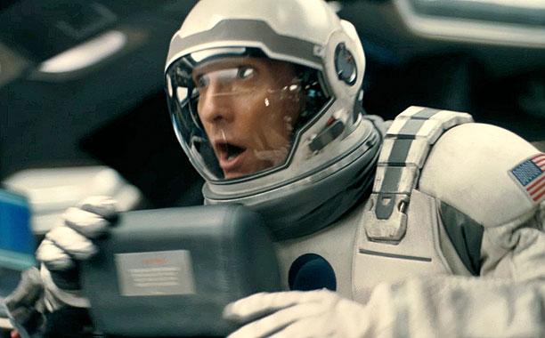 GALAXY QUEST Matthew McConaughey hunts for a new habitable planet in Interstellar