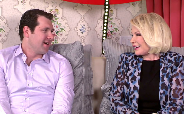 Joan Rivers And Billy Eichner