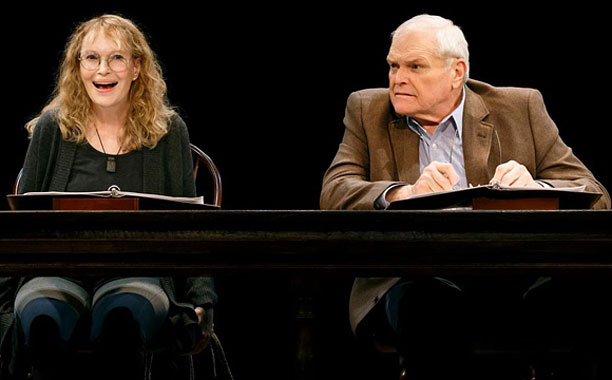 LOVE LETTERS Mia Farrow and Brian Dennehy