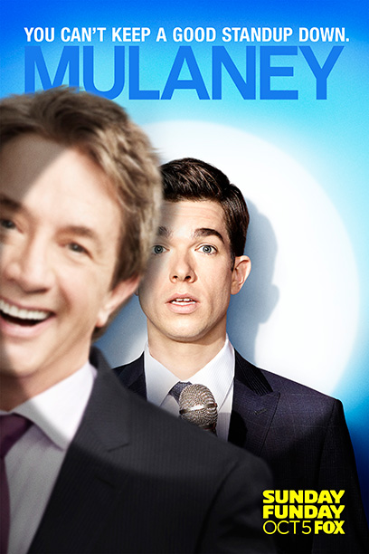''You can't keep a good standup down,'' says Fox, but this deeply sitcom-y sitcom sure tries. Martin Short lunges in from the side. Instant response:…